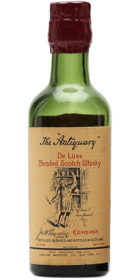 The Antiquary De Luxe Blended Scotch Whisky