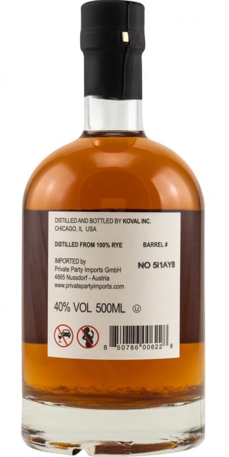 Koval Single Barrel - Rye