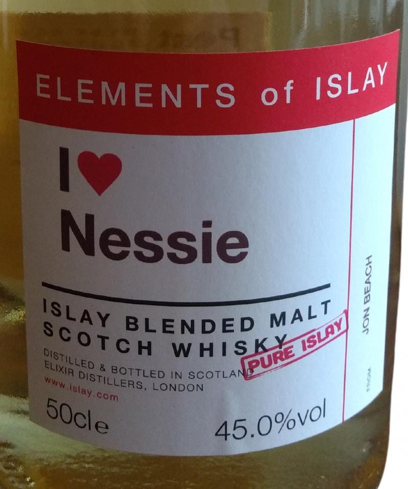Islay Blended Malt Scotch Whisky I love Nessie ElD