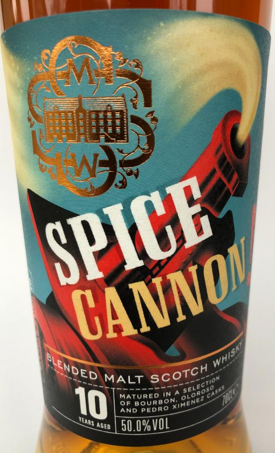 Blended Malt Scotch Whisky 2009 Spice cannon SMWS