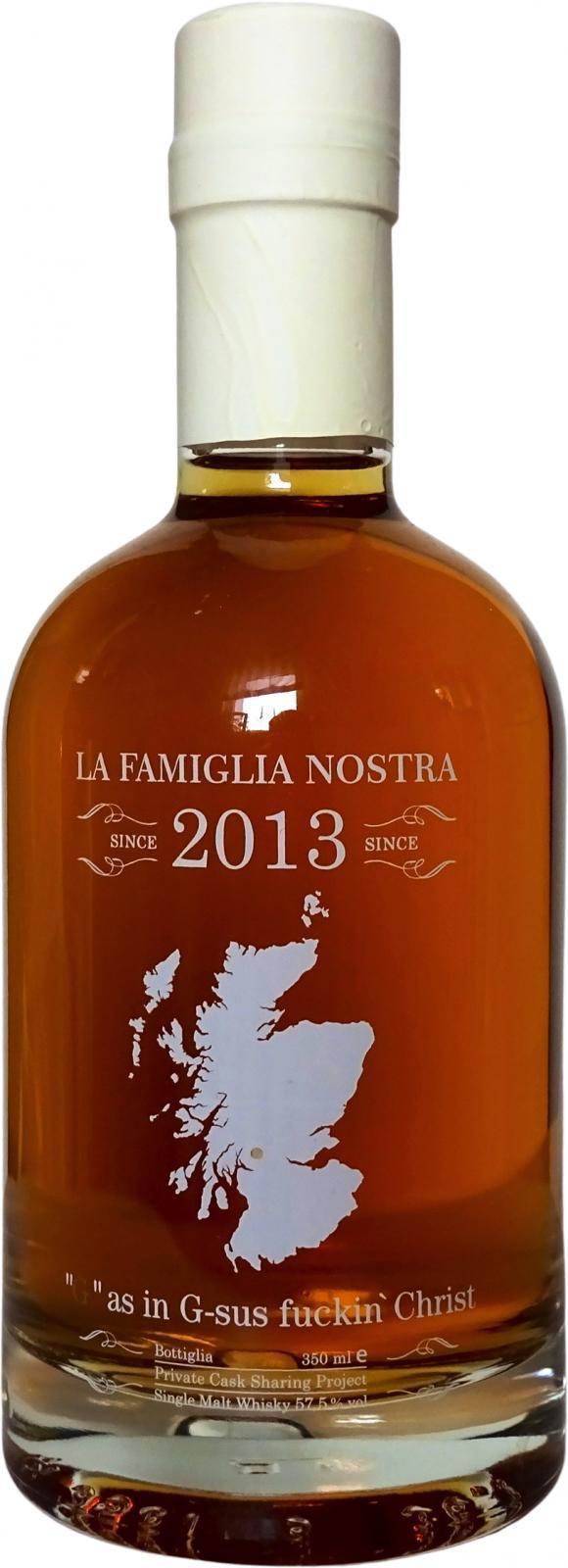 """La Famiglia Nostra """"G"""" as in G-sus fuckin' Christ LFN"""