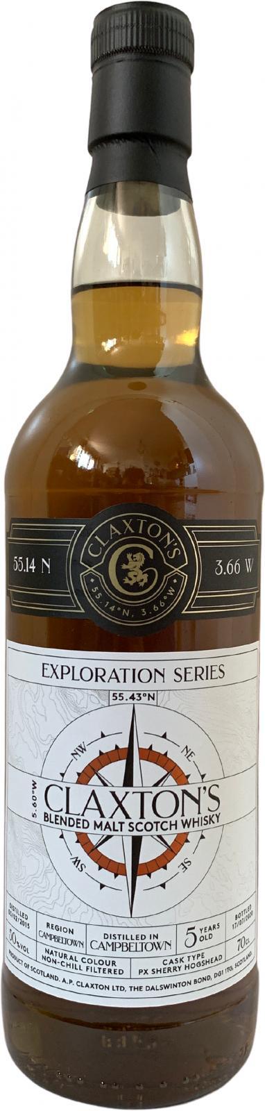 Blended Malt Scotch Whisky 2015 Cl
