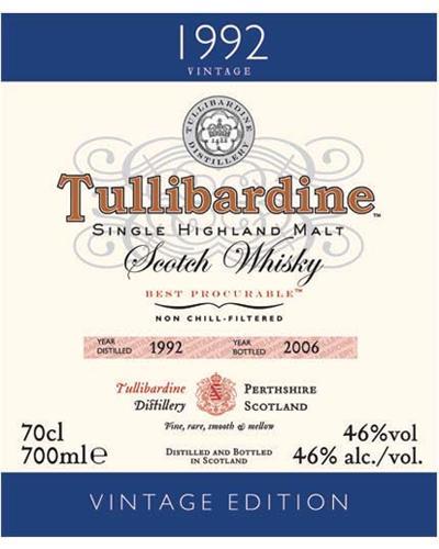 Tullibardine 1992