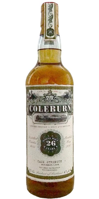 Coleburn 1983 JW
