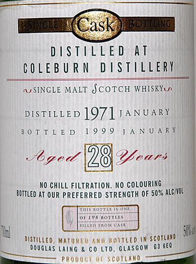 Coleburn 1971 DL
