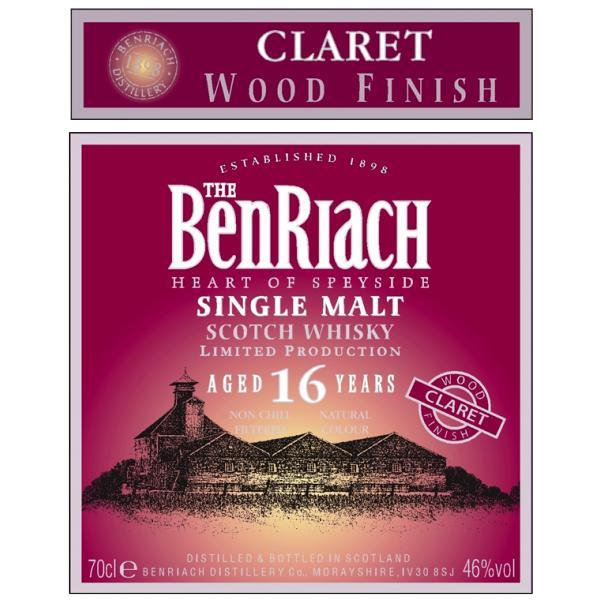 BenRiach 16-year-old Claret