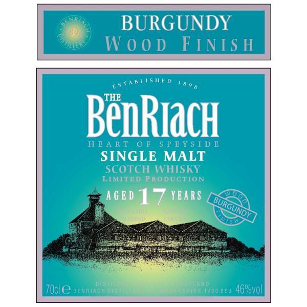 BenRiach 17-year-old Burgundy