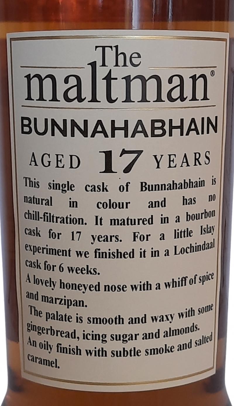 Bunnahabhain 2002 MBl