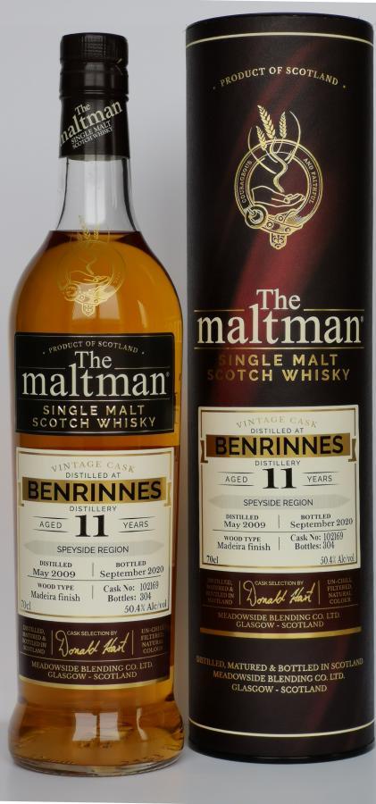 Benrinnes 2009 MBl