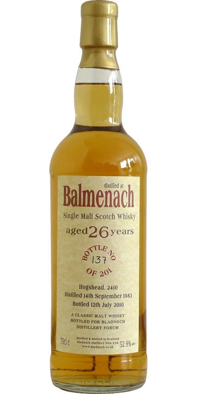 Balmenach 1983 BF