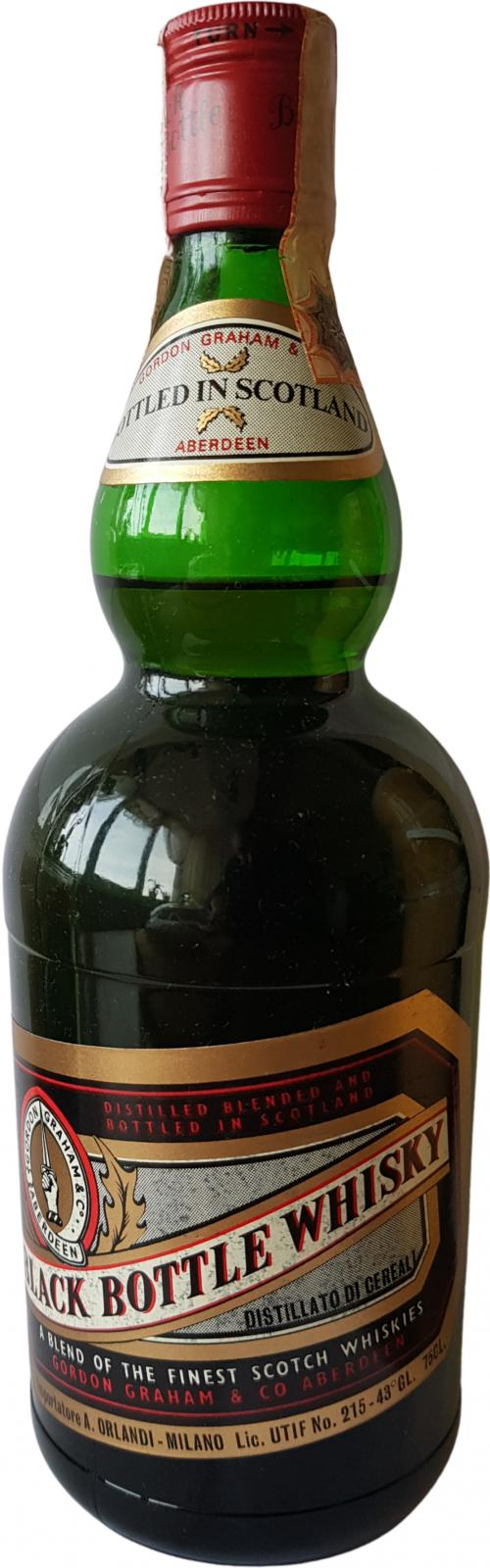 Black Bottle Whisky
