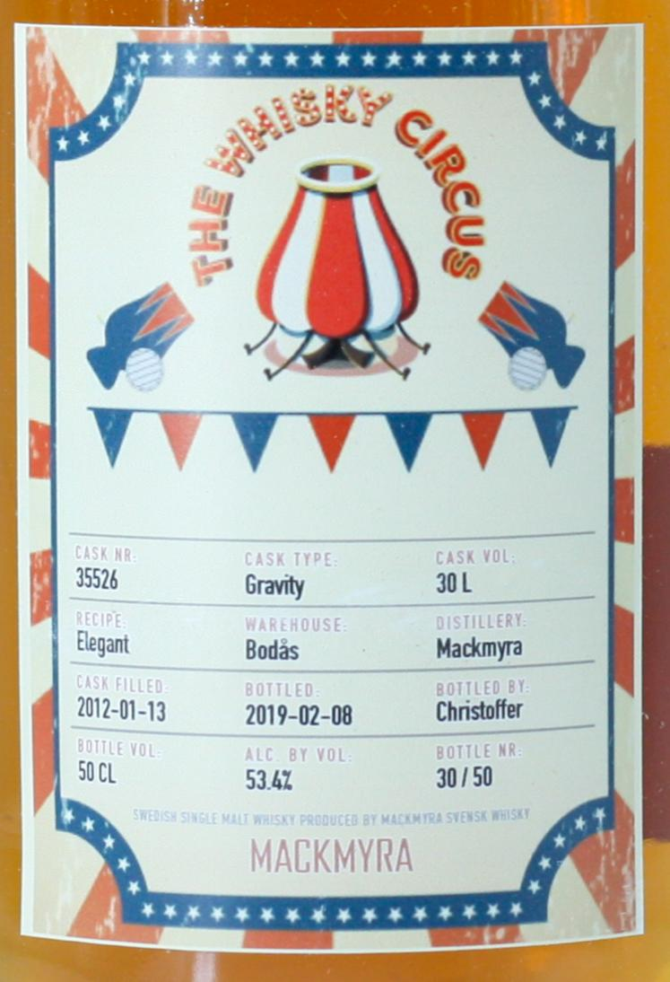 Mackmyra 2012