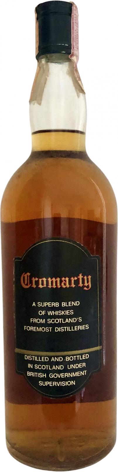 Cromarty Finest Old Scotch Whisky