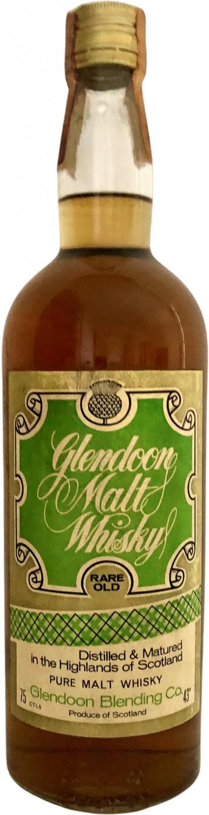 Glendoon Malt Whisky Rare Old