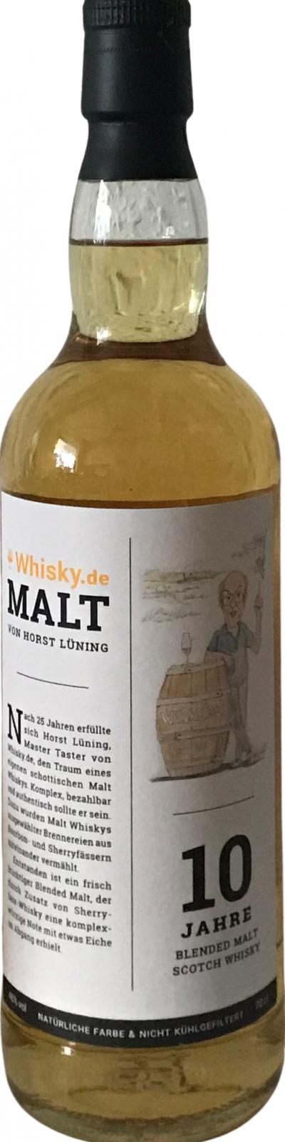 Whisky.de 10-year-old ADD