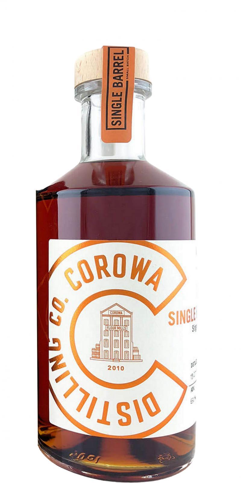 Corowa Distilling Co. 2017