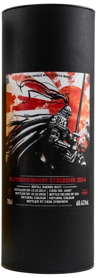Bunnahabhain 2014 SV - Staoisha