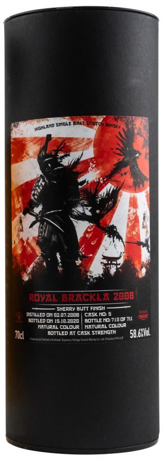 Royal Brackla 2008 SV