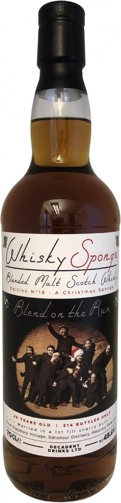 Blended Malt Scotch Whisky 29-year-old WSP