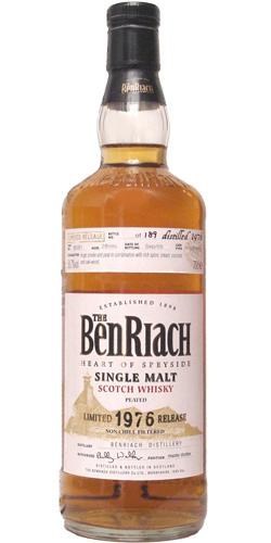 BenRiach 1976 - Peated