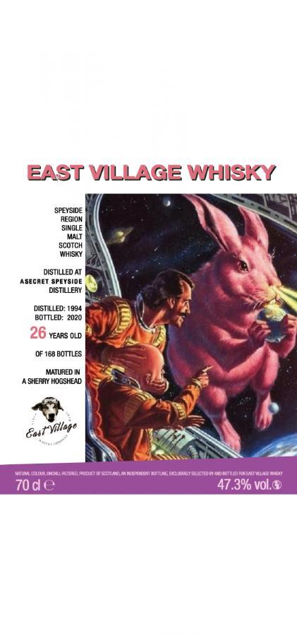 A Secret Speyside Distillery 1994 EVWC