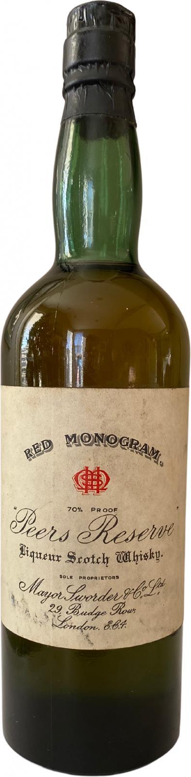 Red Monogram Peers Reserve