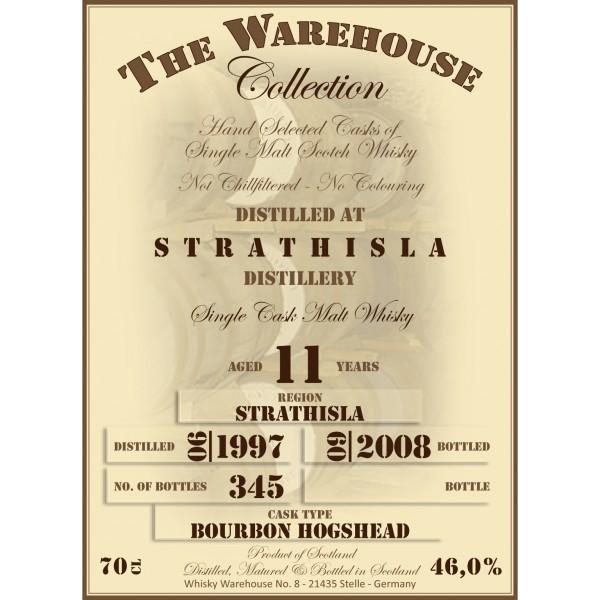 Strathisla 1997 WW8