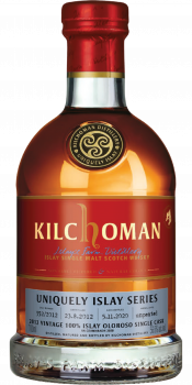 Kilchoman 2012 100% Islay Unpeated