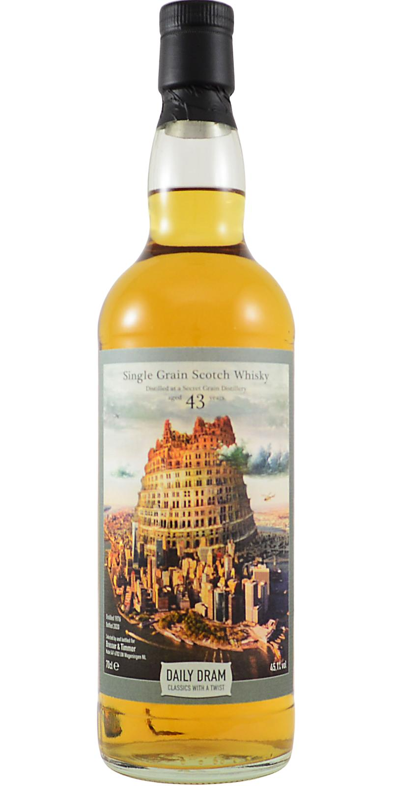 Single Grain Scotch Whisky 1976 TDD