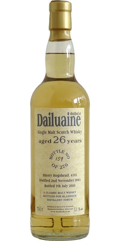 Dailuaine 1983 BF