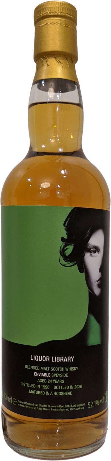 Blended Malt Scotch Whisky Enviable Speyside