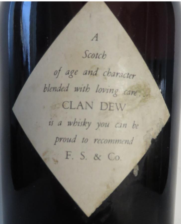 Clan Dew Finest Quality Scotch Whisky