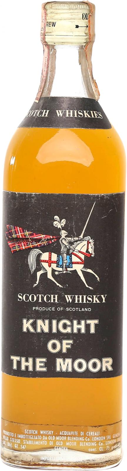 Knight of the Moor Scotch Whisky