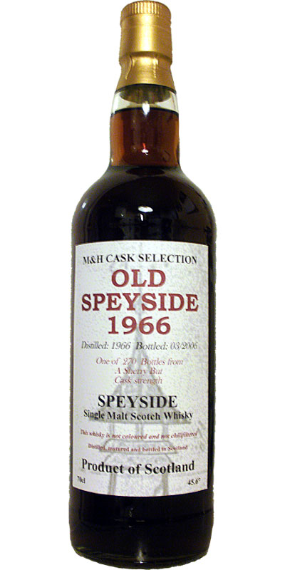 Old Speyside 1966 TS