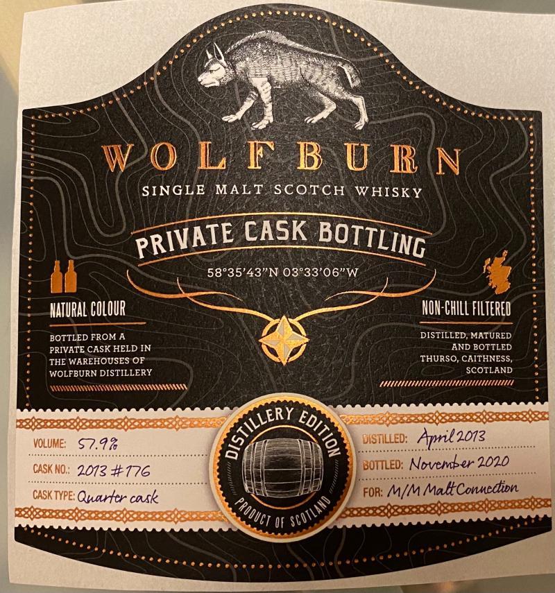 Wolfburn 2013