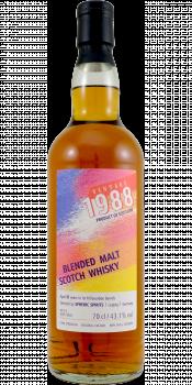 Blended Malt Scotch Whisky 1988 SpSp