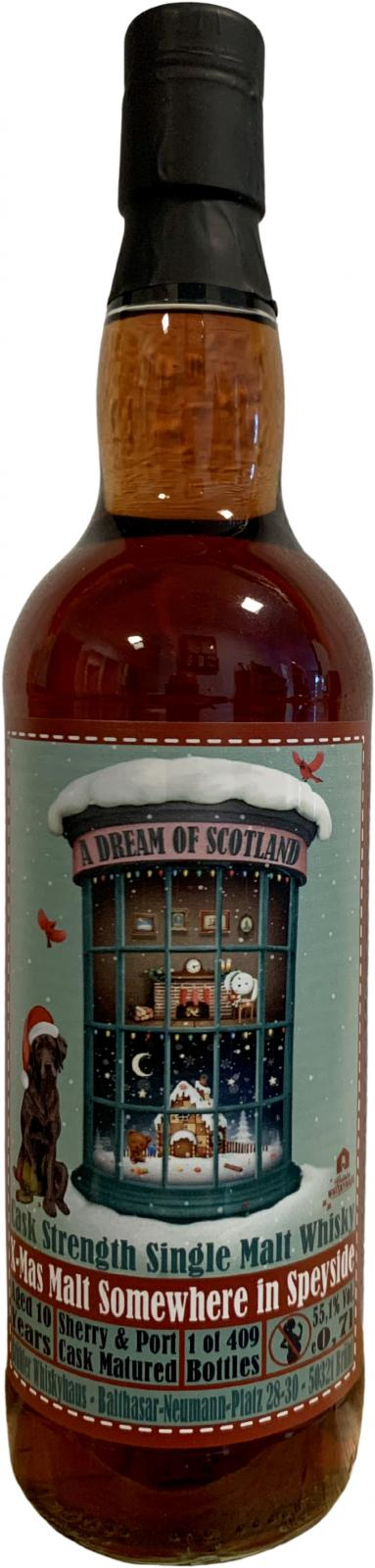 Somewhere in Speyside X-Mas Malt