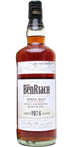 BenRiach 1976 - Peated