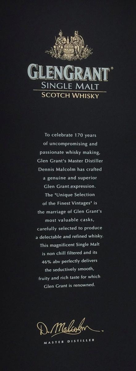 Glen Grant 170th Anniversary