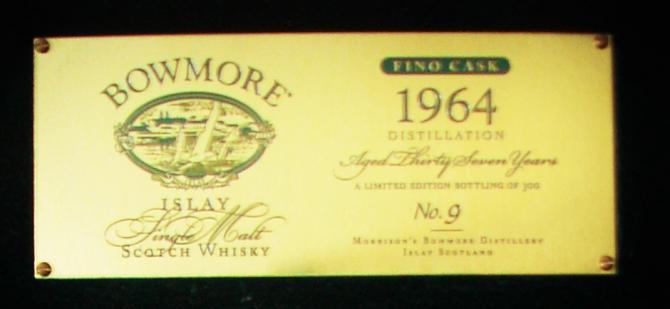 Bowmore 1964 Fino Cask