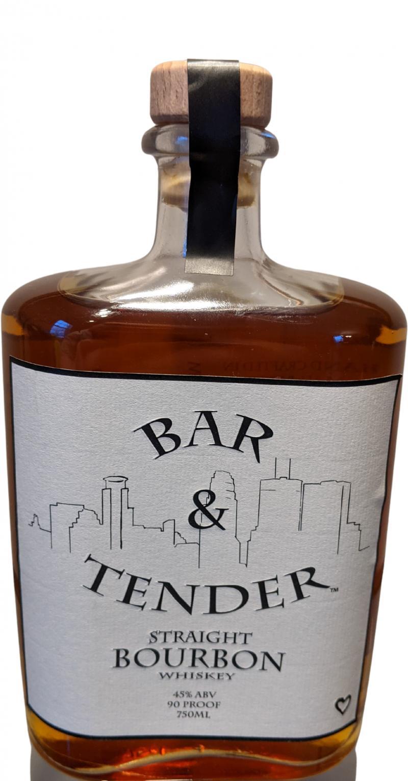 Bar & Tender Straight Bourbon Whiskey