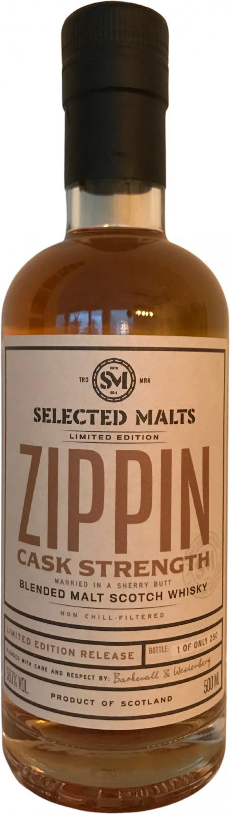 Zippin Blended Malt Scotch Whisky