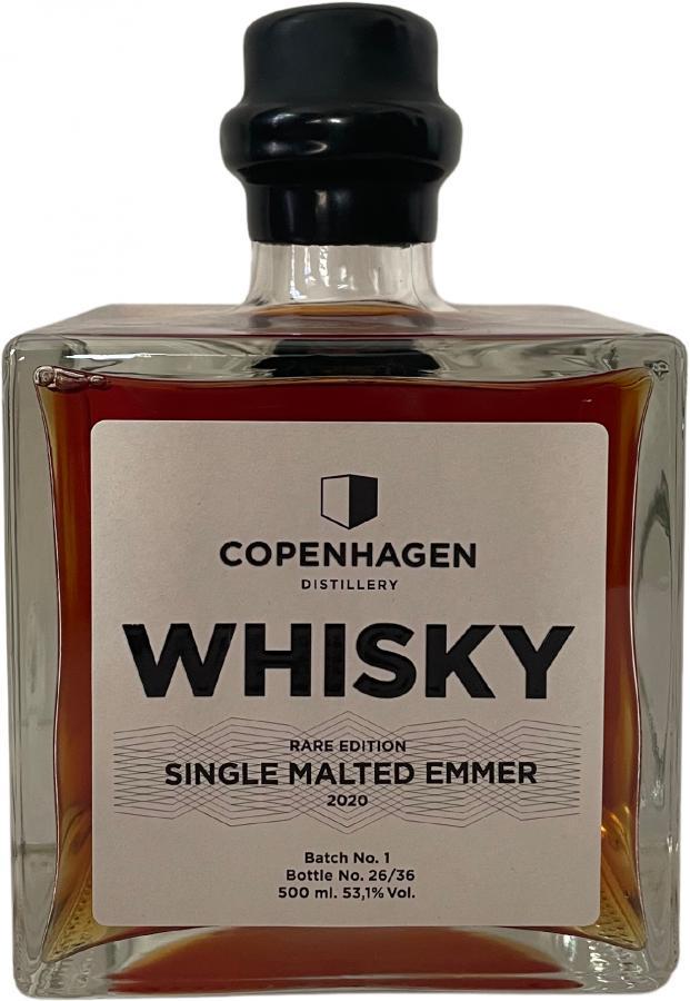 Copenhagen Distillery Single Malted Emmer