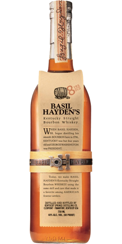 Basil Hayden's 08-year-old - Ratings and reviews - Whiskybase