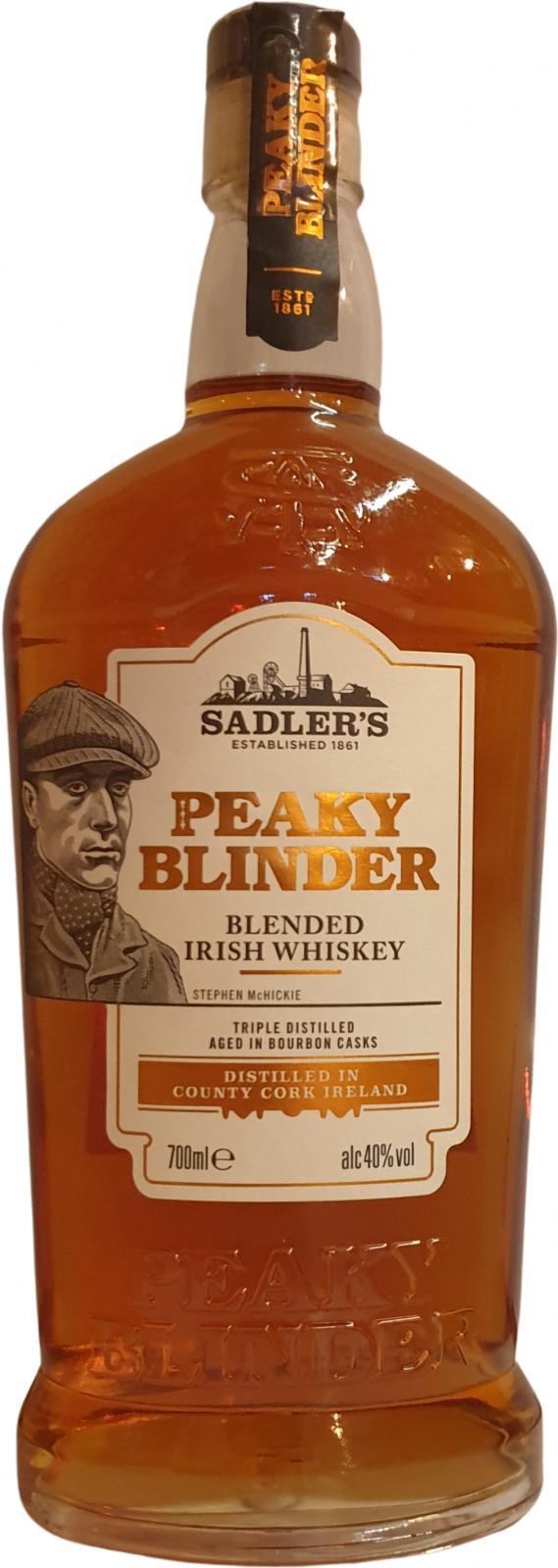 Peaky Blinder Blended Irish Whiskey Sad