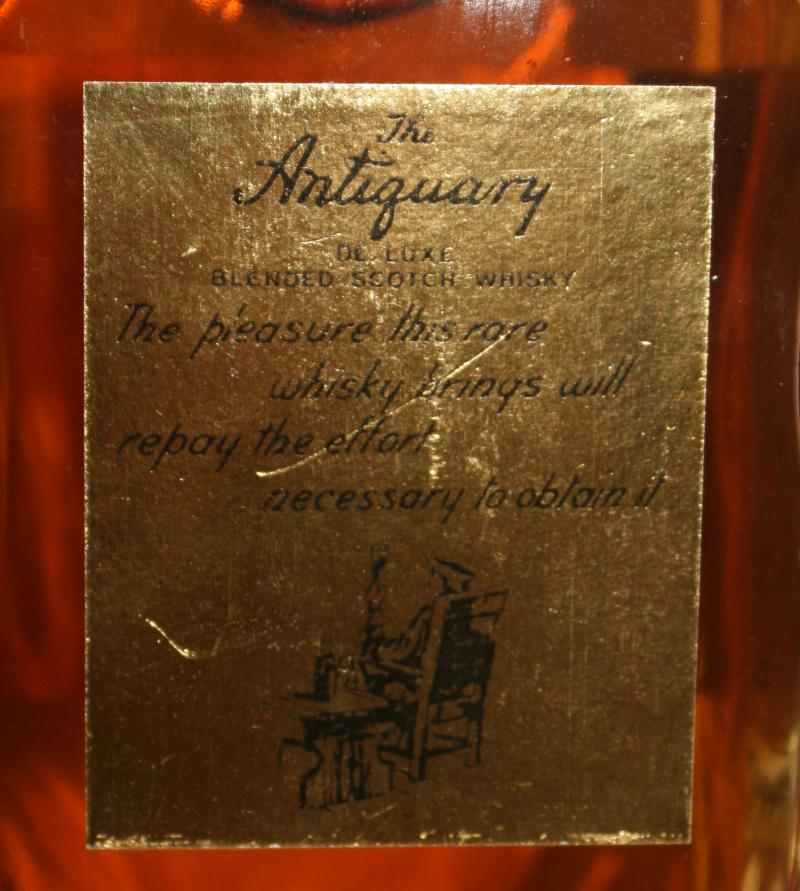 The Antiquary De Luxe Scotch Whiskey