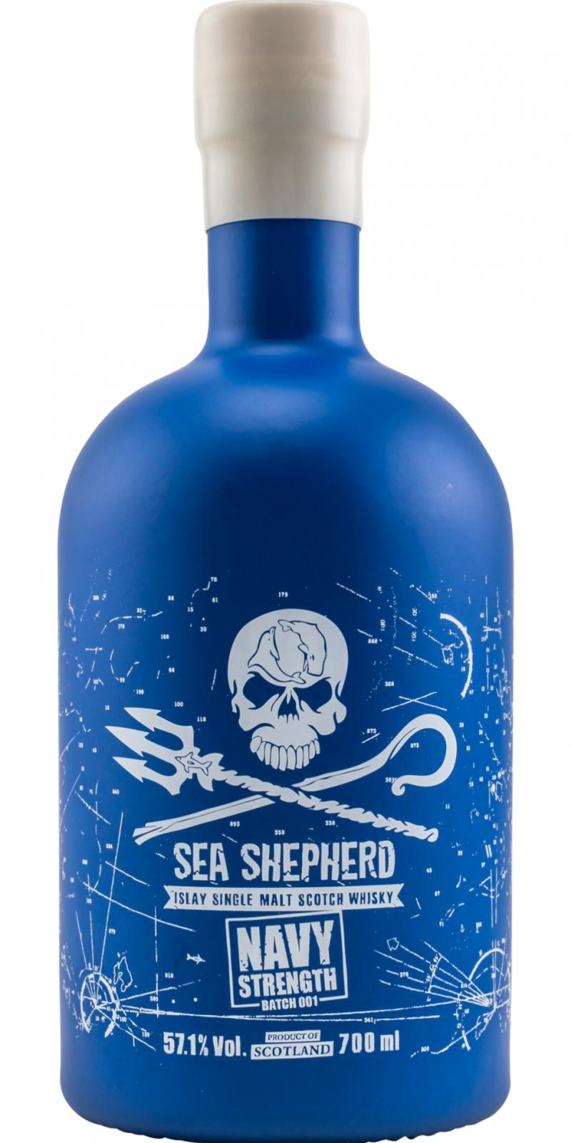 Islay Single Malt Scotch Whisky Sea Shepherd