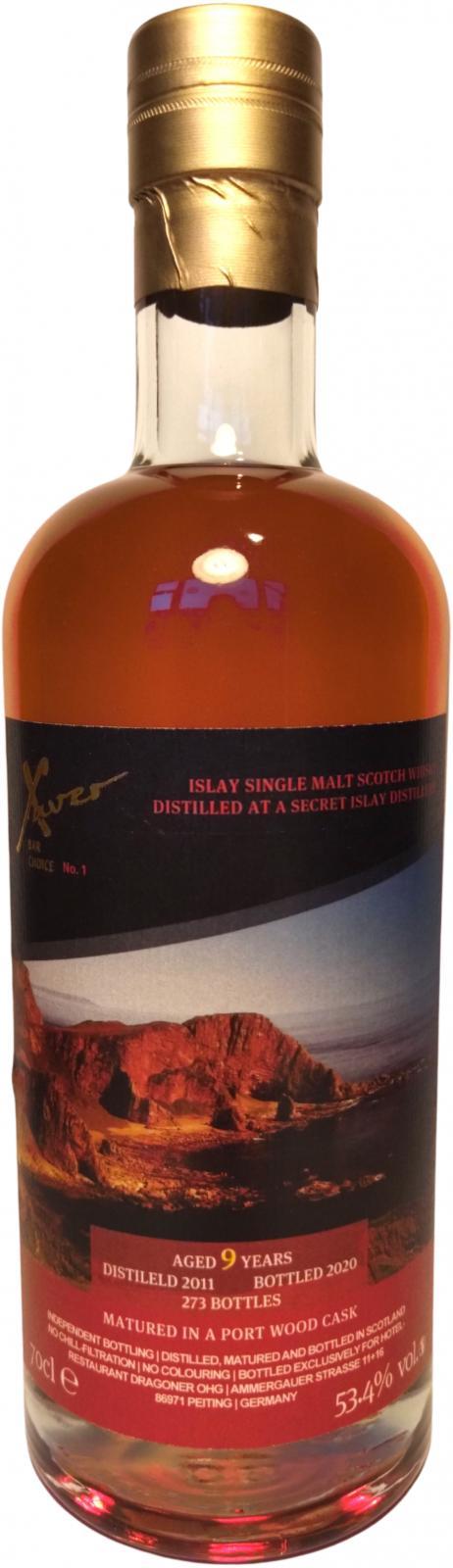 Unnamed Islay Malt 2011 IB