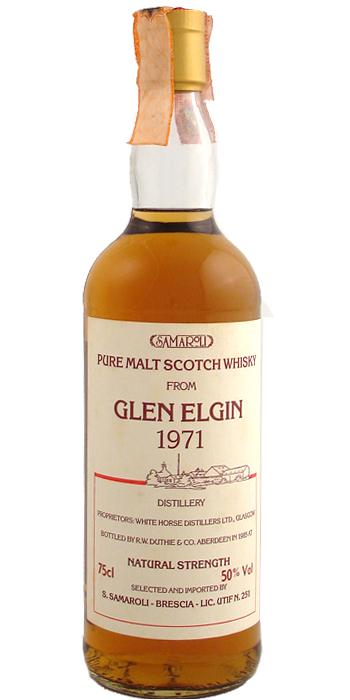 Glen Elgin 1971 Sa