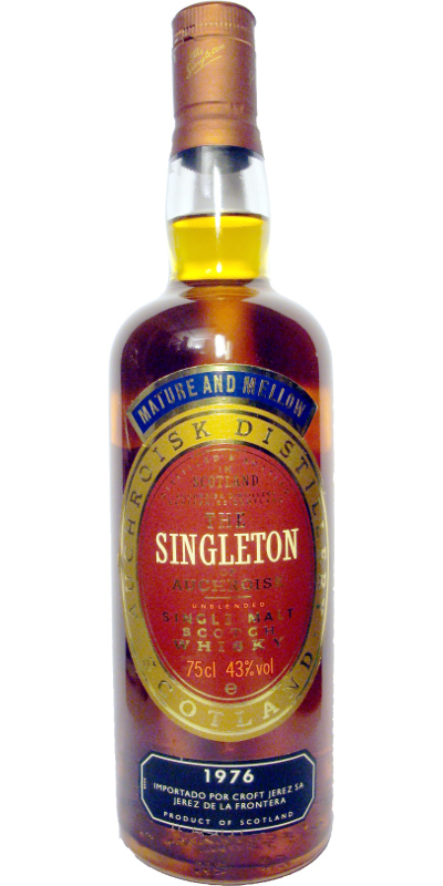 The Singleton of Auchroisk 1976